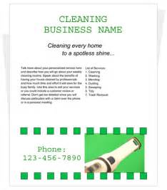 Cleaning Business Templates House Cleaning Services Flyer Templates Images Amp Pictures