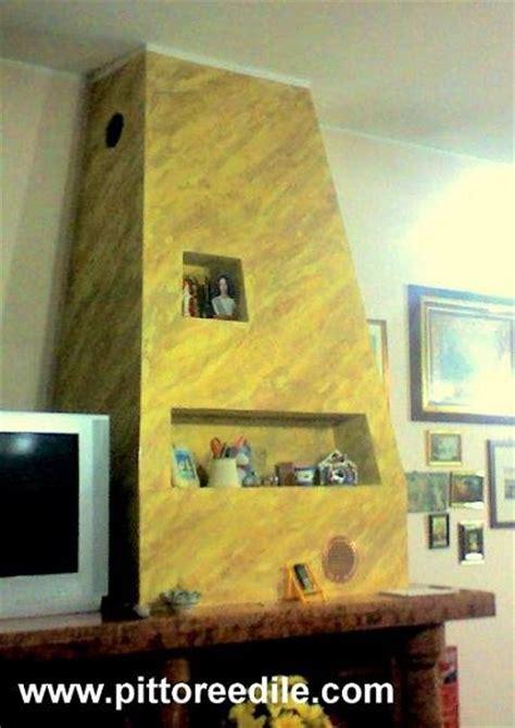 cappe camini in cartongesso decorazione a stucco veneziano della cappa in cartongesso