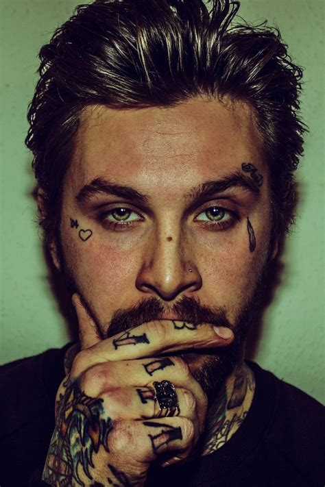 face tattoos for men haris nukem damn so so all around