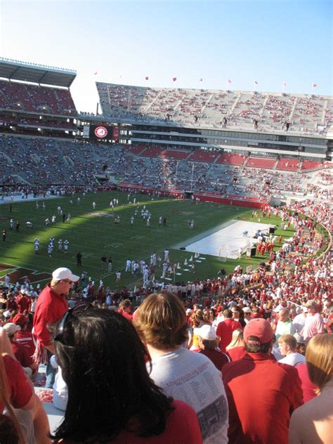 bryant denny stadium student section file bryant denny stadium 2006 jpg wikimedia commons