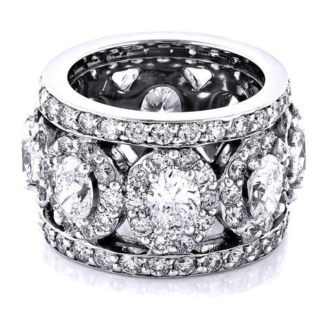 anniversary rings unique 18k gold designer wide