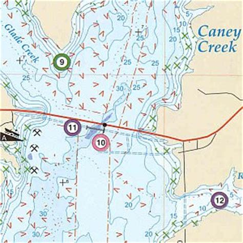 map of lake fork texas lake fork reservoir fishing map