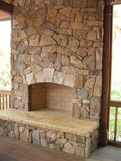 Stones Fireplace by Fireplace Idea Decor Ideas