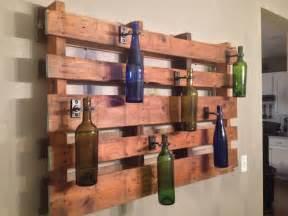 wood pallet decor great for outside lighting kitchen