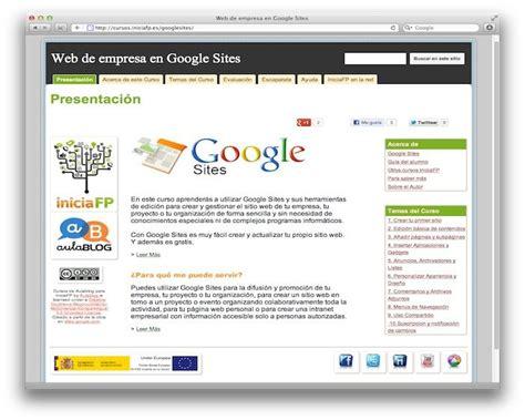 website tutorial google sites curso b 225 sico de google sites