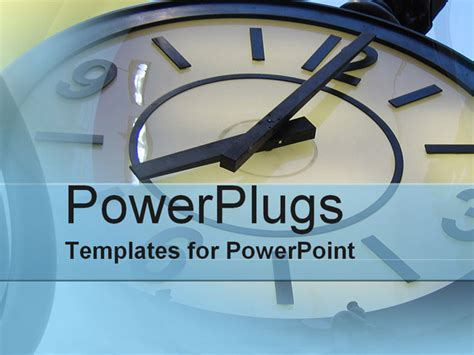 management powerpoint templates time management powerpoint template