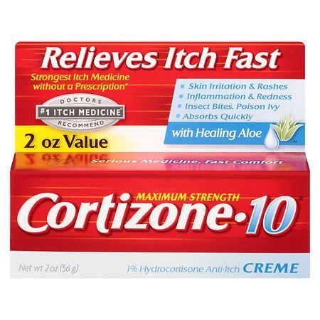 cortizone 10 maximum strength hydrocortisone anti itch