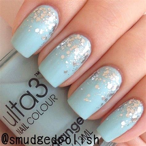 blue light for nails 65 most stylish light blue nail art designs