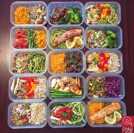 meal preps | rg fitness food