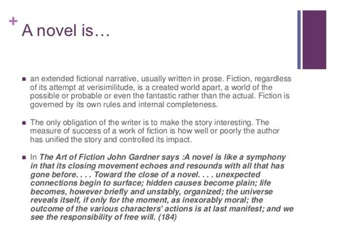 the a novel what is a novel history and observations