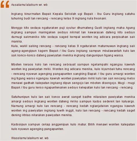 contoh contoh sambutan perpisahan review ebooks