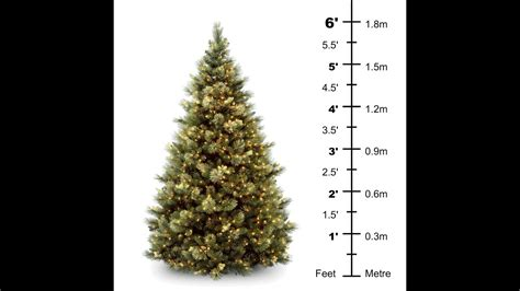 6ft tree no lights artificial trees 6 most