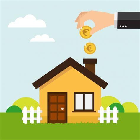 real house design real estate background design vector free
