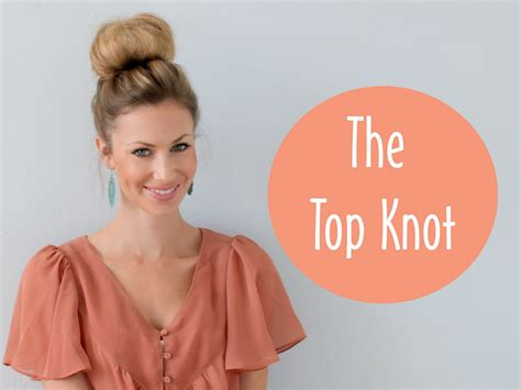 how long to grow hair for topknot how to the top knot