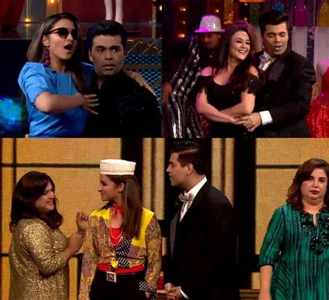 karan johar casting couch lip sing battle episode 2 parineeti chopra s lap dance to