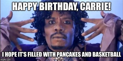 Carrie Meme - prince happy birthday imgflip