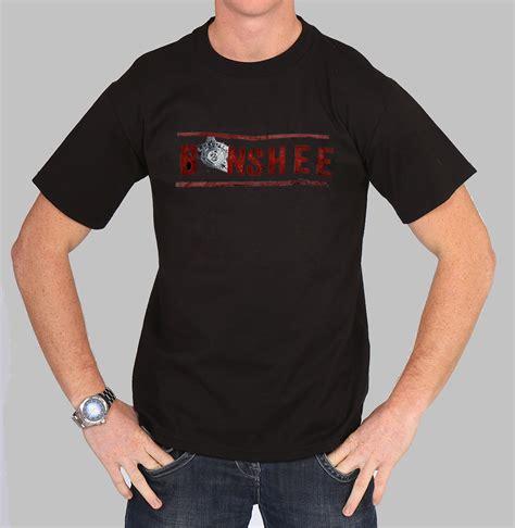 Tshirt Series Bigsize Ld 100 Cm banshee sheriff style logo tv series show inspired t shirt