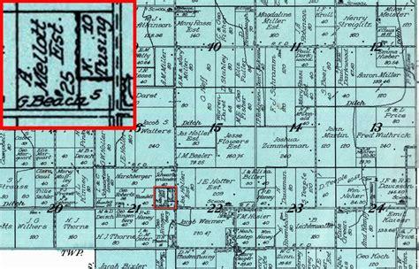 section 8 jefferson county colorado photo atlas indiana kosciusko co jefferson twp 1914