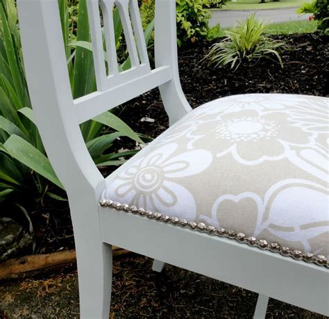 how to reupholster a couch with wood trim how to reupholster a chair an easy step by step tutorial
