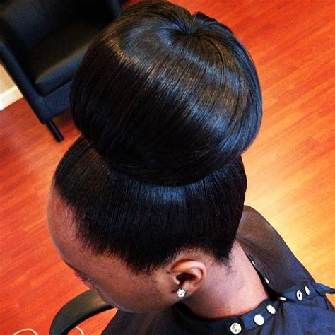 pics of black pretty big hair buns with added hair 21 best pony tails images on pinterest