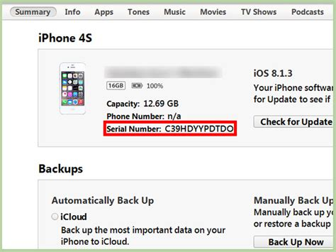 5 serial number 3 ways to check an iphone serial number wikihow