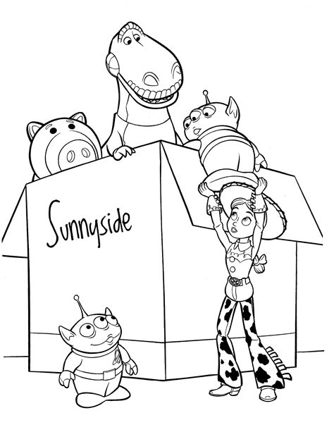 toys coloring pages preschool 25 awesome and free toy story coloring pages gianfreda net