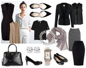 Wardrobe Clothes A Capsule Wardrobe Minimalist Corporate Style That