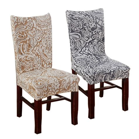 cheap dining room chair covers 1 piece plum chair covers cheap jacquard stretch chair
