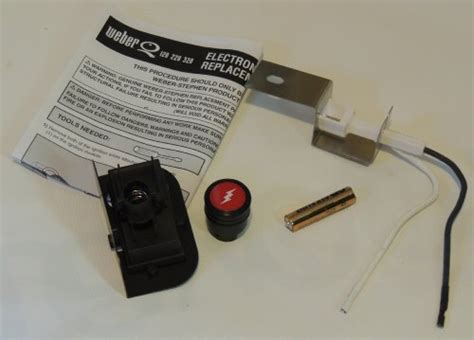 Backyard Grill Electronic Ignitor Kit Weber Gas Grill Q120 Q220 Replacement Electronic Igniter