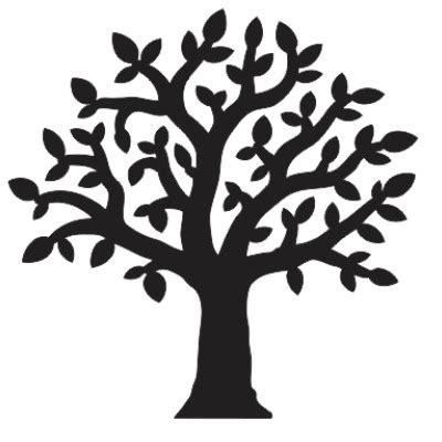 Custom Made Wall Stickers tree shape individual element custom wholesale designs