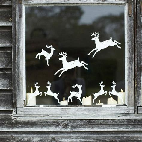 fensterbilder zu weihnachten selber machen fensterbilder zu weihnachten originelle bastelideen zum