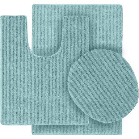 walmart bathroom rug sets 3 washable bathroom rug set walmart