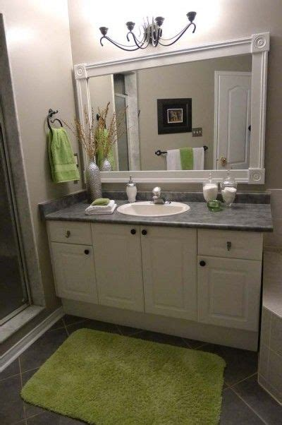 how do you frame a bathroom mirror 25 best ideas about frame bathroom mirrors on