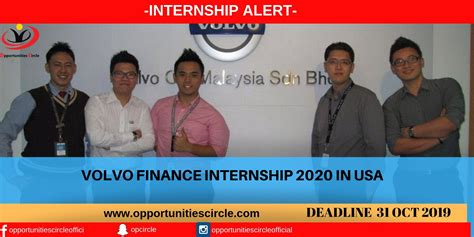 volvo finance internship   usa opportunities circle