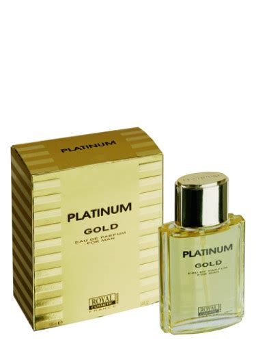 Parfum Royal Gold platinum gold royal cosmetic cologne a fragrance for