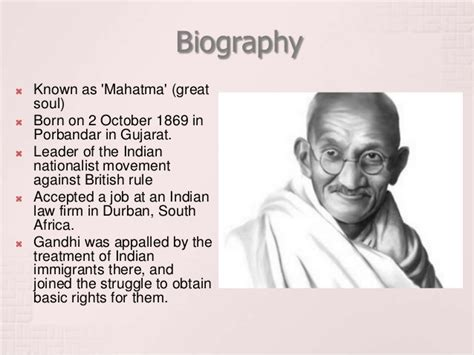 biography gandhi short mohandas gandhi