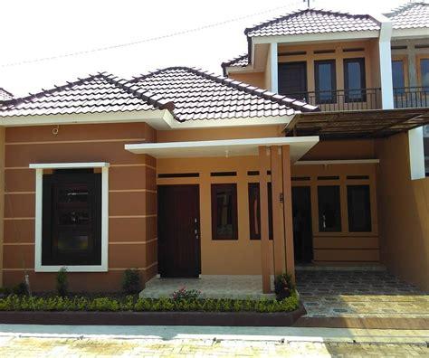 top warna cat tembok exterior rumah minimalis arsihome