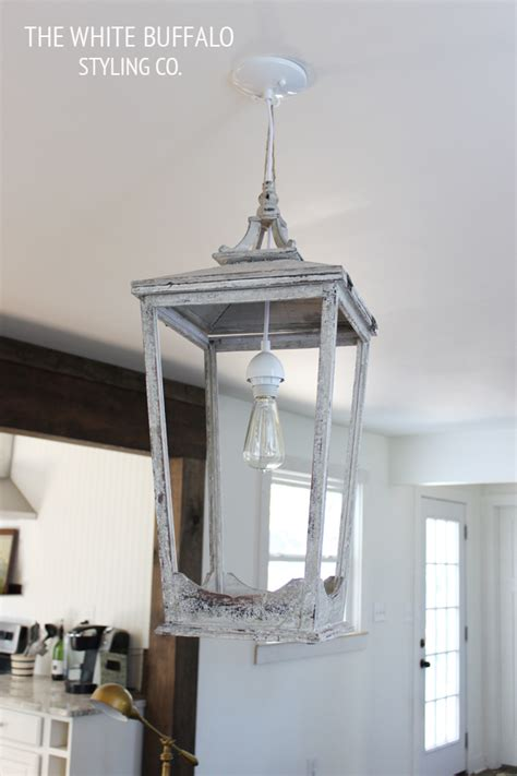 How To Make A Pendant Light Fixture Diy Lantern Light Fixture