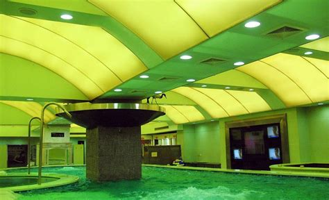 Green Ceilings by Green Ceiling Indoor Swimming Pool Designs