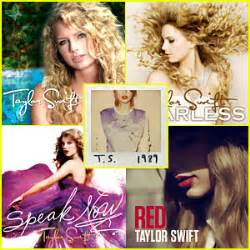 taylor swift albums online ten years of taylor swift