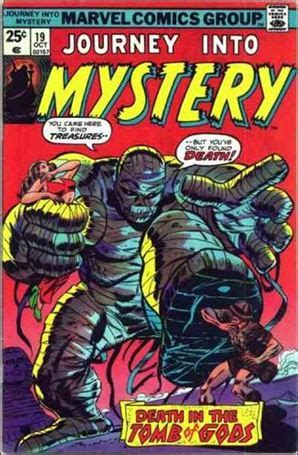 journey into cyprus books journey into mystery 19 a oct 1975 comic book by marvel
