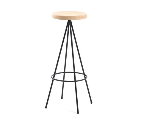 Mobles 114 Barcelona Stool by Nuta Wood Stool 75 Counter Stools From Mobles 114