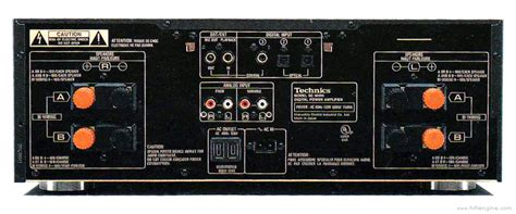 Technics SE-M100 - Manual - Stereo Power Amplifier - HiFi ... Signal Amplification