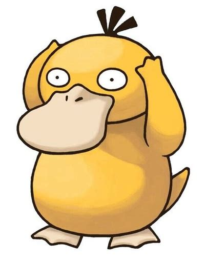 Psyduck Meme - confused psyduck