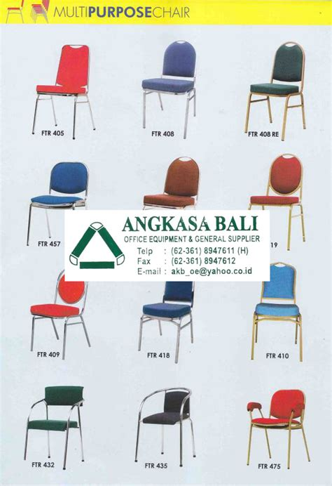 Kursi Meeting Futura angkasa bali furniture distributor alat kantor jual kursi