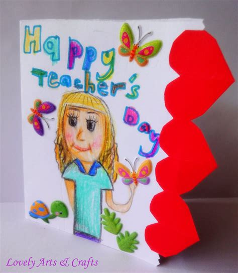teachers day crafts for lovely arts crafts v may 2011