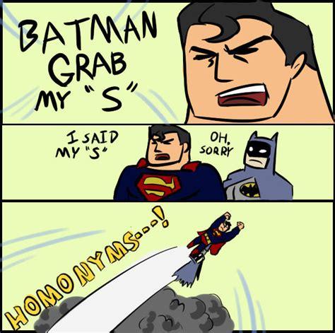 Superman And Batman Memes - batman and superman gay quotes
