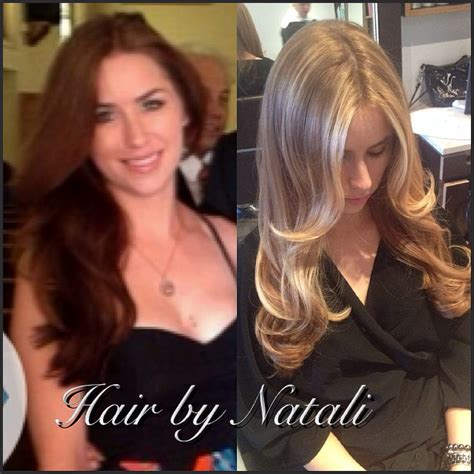 brown hair to blonde balayage before and after before and after brown to blonde with balayage highlights