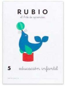 cuadernos rubio educacion infantil 8485109406 grafomotricidad para 2 a 241 os coloreable actividades
