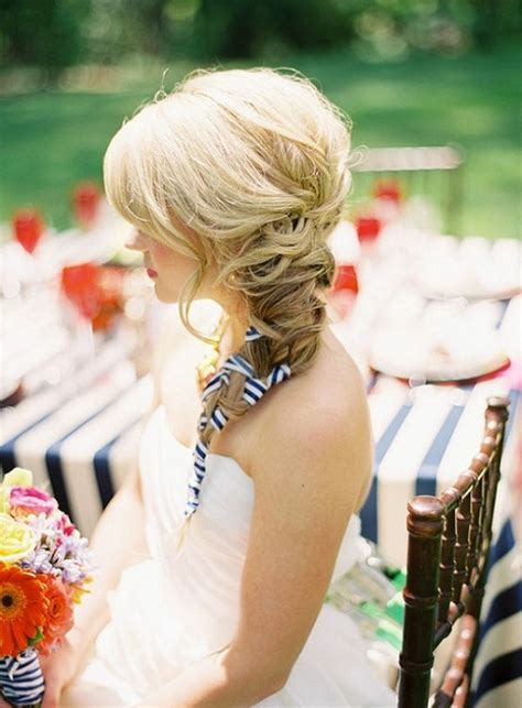 bridal ribbon hairstyles 10 gorgeous hairstyles for your summer wedding